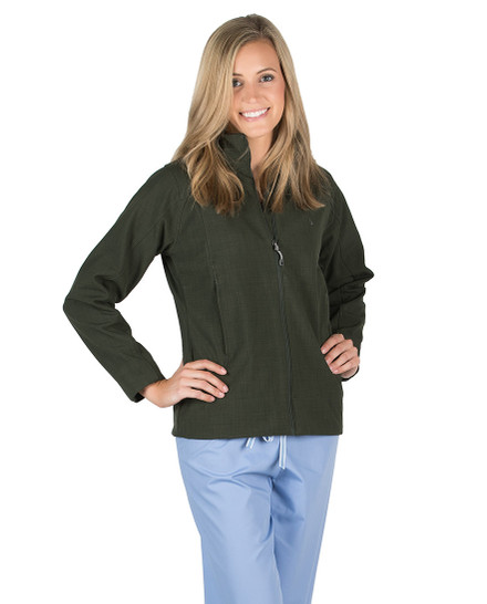 Olive Derbshire Soft Shell Jacket