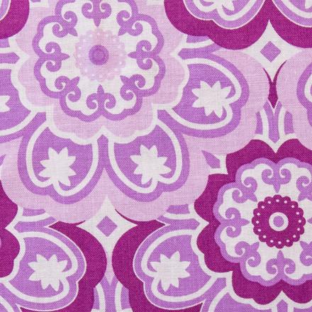 Lavender Blooms Poppy Scrub Hat