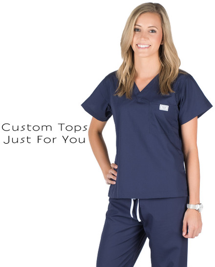 Custom Scrub Tops
