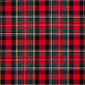 Men's Surgical Scrub Hats Wightwick Plaid - Image Variant_0