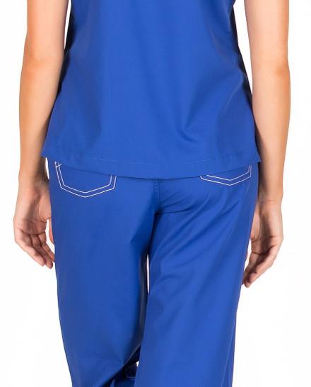 Medium Petite Royal Blue Shelby Surgical Scrub Pant