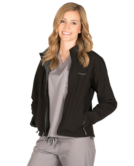Black Adeline Soft Shell Jacket