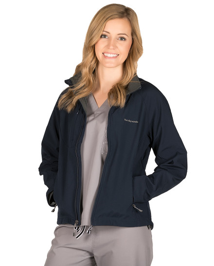 Navy Adeline Soft Shell Jacket