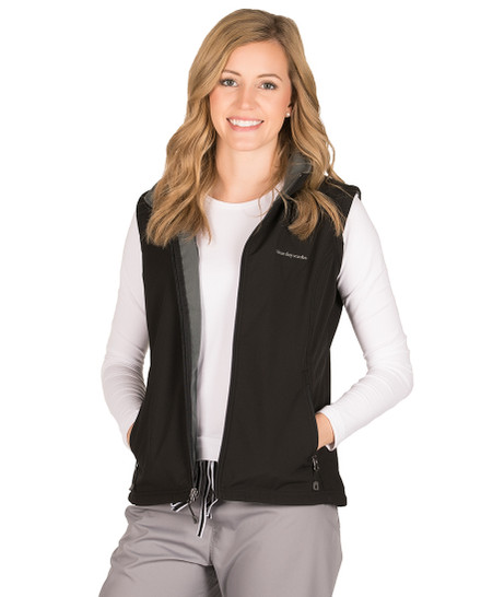 Black Dylan Soft Shell Vest