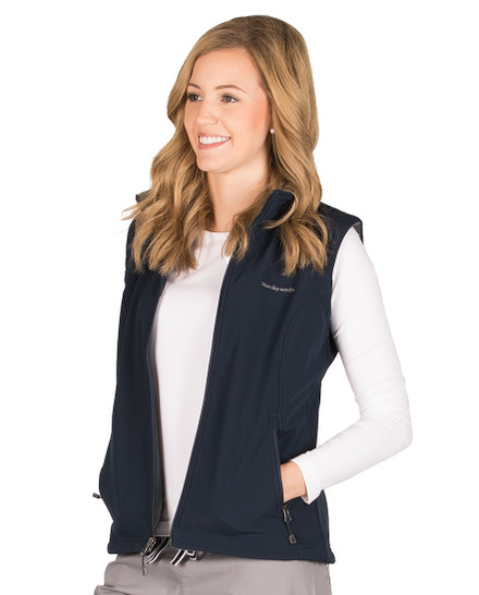 Navy Dylan Soft Shell Vest