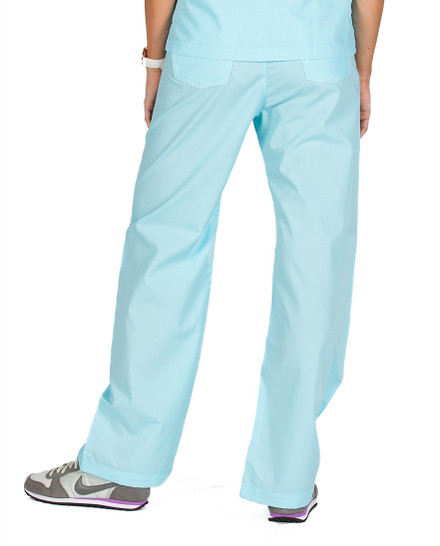 XL Aquamarine Shelby Scrub Bottoms