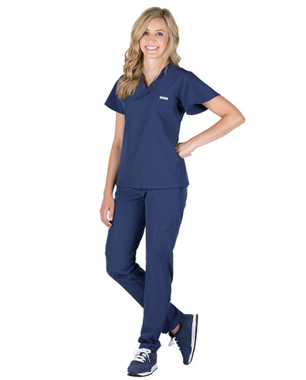 Logan 2-Pocket Scrub Top