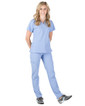 Piper Cargo 6-Pocket Scrub Top - Image Variant_1