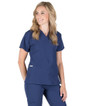 Piper Cargo 6-Pocket Scrub Top - Image Variant_14