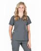 Piper Cargo 6-Pocket Scrub Top - Image Variant_21