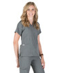 Piper Cargo 6-Pocket Scrub Top - Image Variant_10