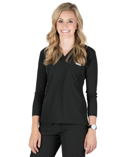 Everly 3/4 Sleeve Scrub Top