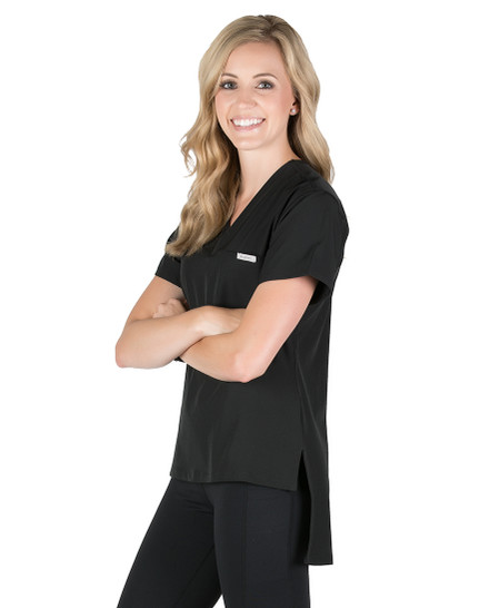 Sadie Tunic Scrub Top