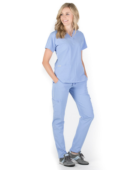 Peyton Cargo 7-Pocket Scrub Pants