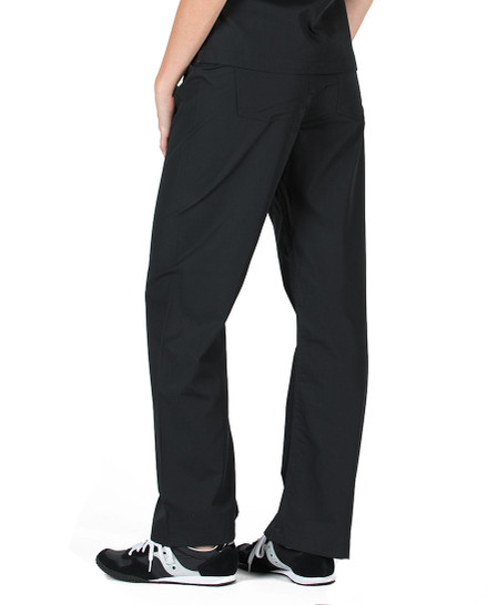 Petite Grey Label Simple Scrub Pants