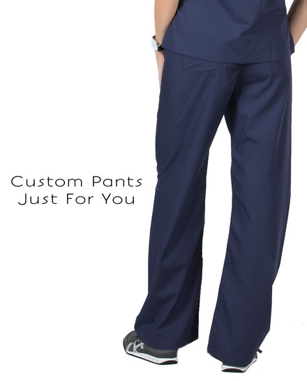 Womens Custom Scrub Pants