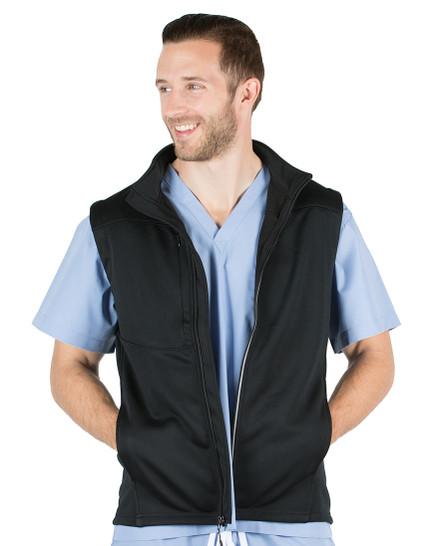 Black Highland Softshell Vest