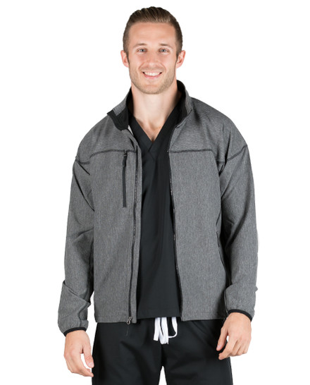 Charcoal Hunter Lightweight Softshell Jacket