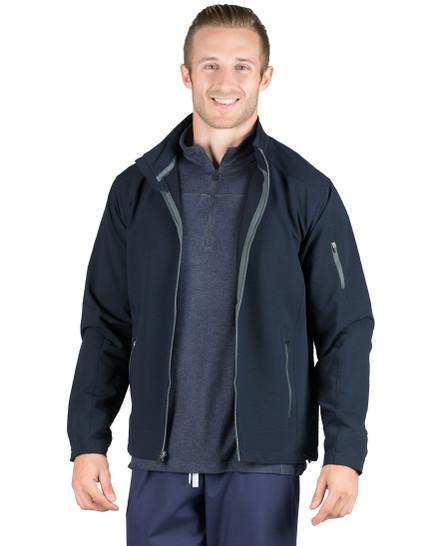 Navy Cooper Lightweight Softshell Jacket