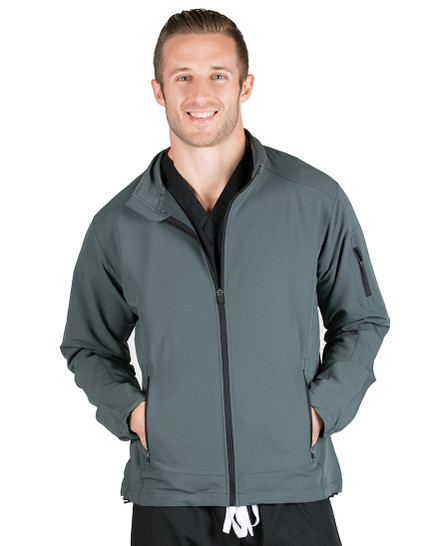 Charcoal Cooper Lightweight Softshell Jacket