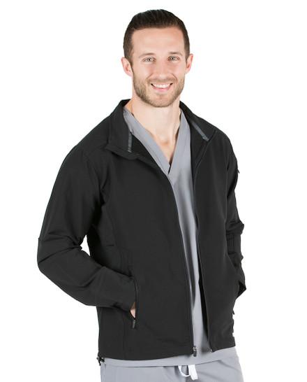 Black Cooper Lightweight Softshell Jacket