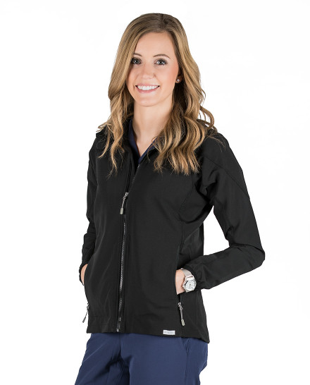 Black Skylar Lightweight Jacket