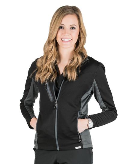 Black Camilla Active Softshell Jacket