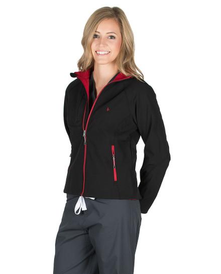 Black Valentina Softshell Jacket