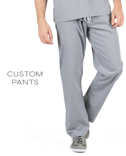 Mens Custom Scrub Pants