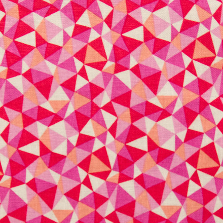 Kaleidoscope Splendor Poppy Scrub Cap