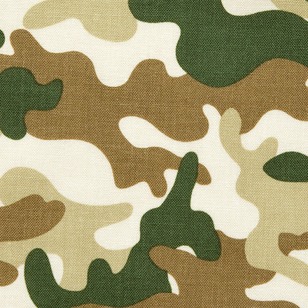 Camouflage Disguise Poppy Scrub Caps
