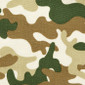 Camouflage Disguise Poppy Scrub Caps - Image Variant_0