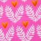 Heart Fern Poppy Medical Scrub Hat - Image Variant_0
