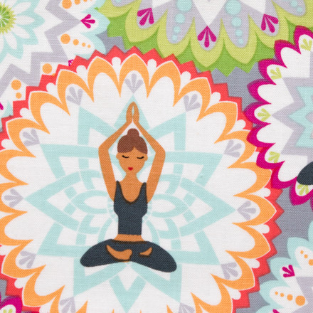 Spiritual Yoga Poppy Scrubs Hat