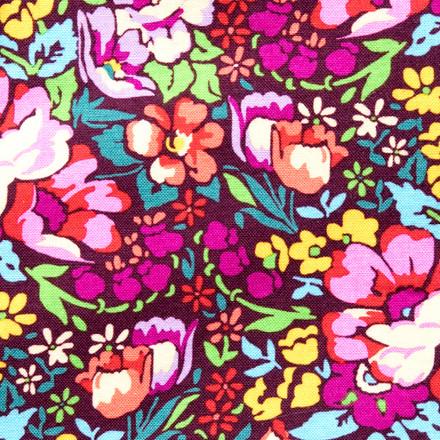 Blossoming Rose Plum Pixie Scrub Cap