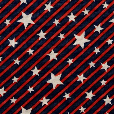 Star Spangled Banner Poppy Scrub Hat