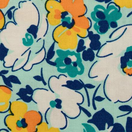 Floral Essence Pixie Scrub Hat for Women