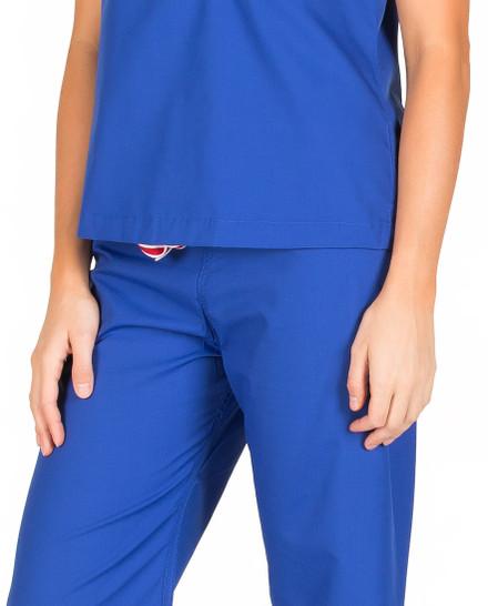 "Medium Tall 34"" - Royal Blue Shelby Scrub Pants"