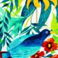 Amazon Rainforest Pixie Scrub Cap - Image Variant_0