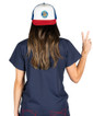 Good Times Trucker Hat -Multi with Blue Patch - Image Variant_1