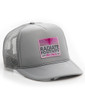 Radiate Positivity Trucker Hat - Grey-Pink - Image Variant_0