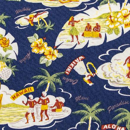 Hawaiian Oasis Pixie Scrub Hat