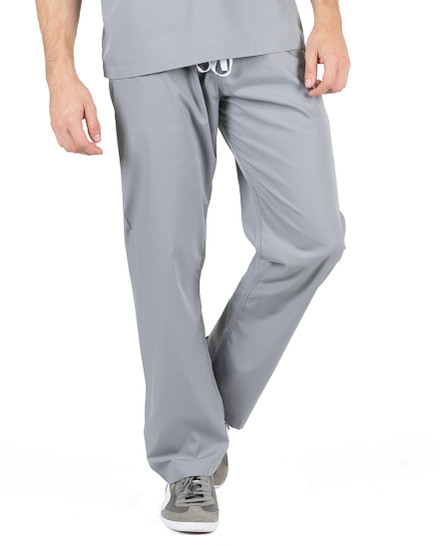 "XL Tall 32"" - Slate Grey David Simple Scrubs Pant"