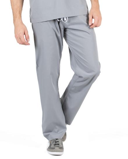 "XL Tall 32"" - Slate Grey David Simple Scrubs Pant"
