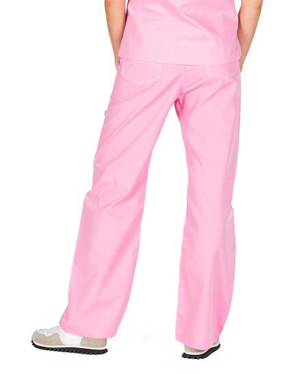 "Small Tall 34"" - Pink Sorbet Shelby Scrub Pants"