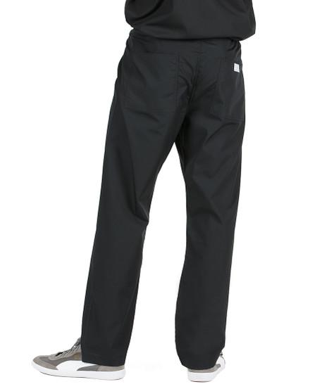 "Medium Tall 32"" - Jet Black David Simple Scrub Pant"