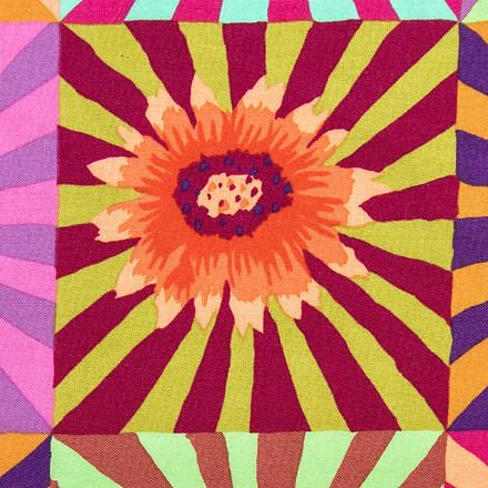 Flower Rays Poppy Medical Scrub Cap
