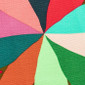 Retro Color Wheel Poppy Scrub Hat - Image Variant_1