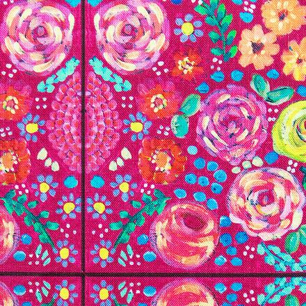Blossoming Ceramic Pixie Scrub Caps