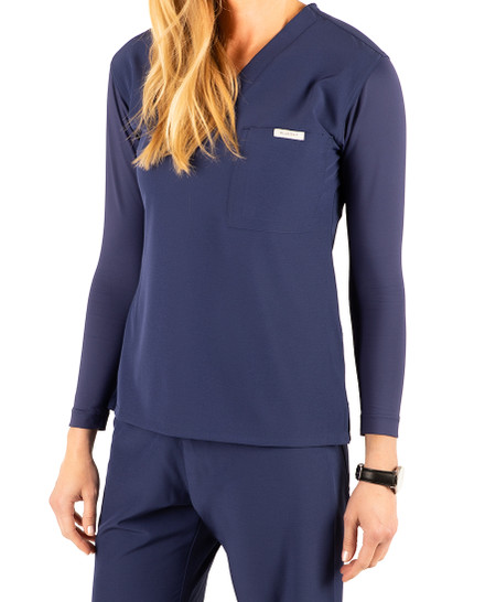 Paloma Long Sleeve Scrub Top